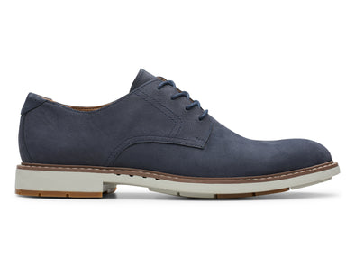 Clarks Un Elott Lace navy outer view