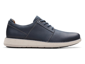 Clarks Un Larvik Lace navy outer view