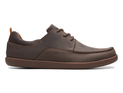Clarks Un Lisbon Lace in Brown outer view