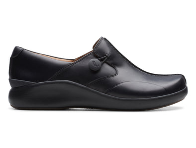 Clarks Un.Loop2 Walk black outer view
