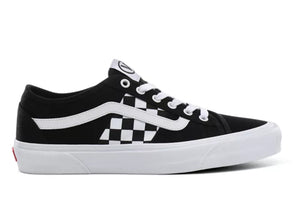 Vans Bess Ni in Black White Check outer view