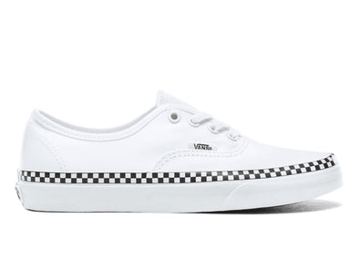 Vans Check Foxing in White outer view