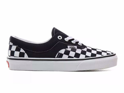 Vans Era Checkerboard in Navy White outer view