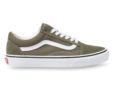 Vans Old Skool in Grape Leaf outer view