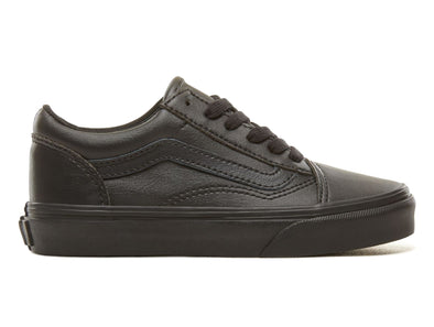 Vans Old Skool Tumble in Black Mono outer view