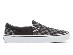 Vans Classic Slip-on in Checkerboard in Black Pewter Check outer view