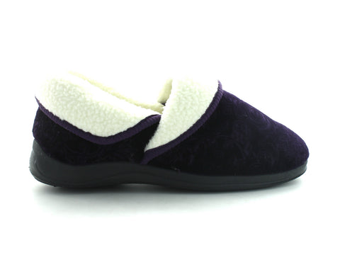 Lotus Wilsson in Purple Velour outer view