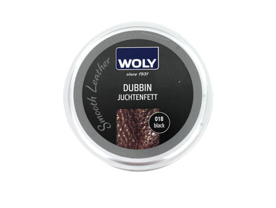 Woly Dubbin in Black front view
