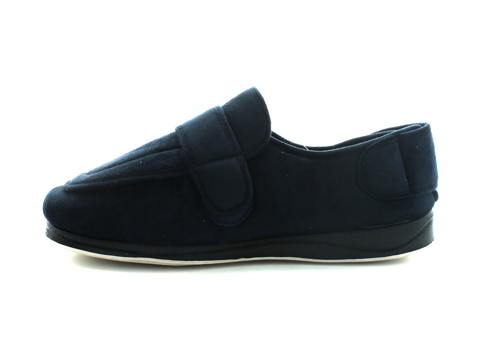 Padders Wrap in Navy Suede inner view