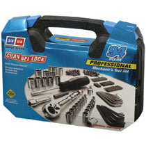 CHANNELLOCK 94 PIECE PROFESSIONAL MECHANIC'S TOOL SET