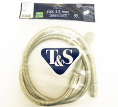 "60"" Flexible Stainless Steel T&S Hose"