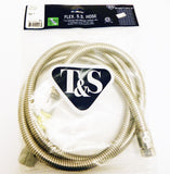 "72"" Flexible Stainless Steel T&S Hose"