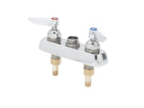 "T&S BRASS WORKBOARD FAUCET-LESS NOZZLE, DECK MOUNTED, 3-1/2"" CENTERS"