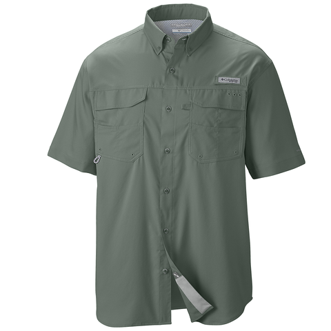 columbia fishing shirt with logo