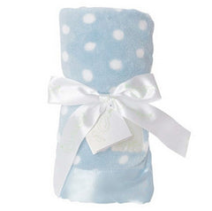 Plush Baby Blanket Polka Dot