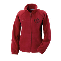Monogrammed Columbia Fleece