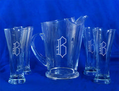 Pilsner Pitcher Set