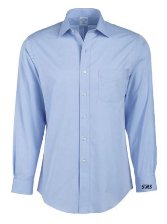 monogrammed business shirt