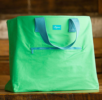 mb greene monogrammed tote bag