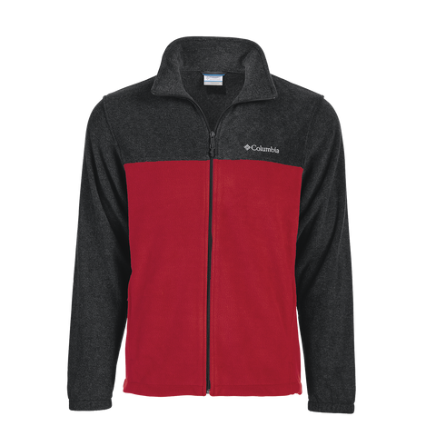 Columbia Men's Colorblock Full-Zip Steens Mountain Fleece Jacket