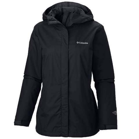 Columbia Ladies' Arcadia II Full-Zip Rain Jacket