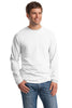 Hanes® Beefy-T® -  100% Cotton Long Sleeve T-Shirt.  5186