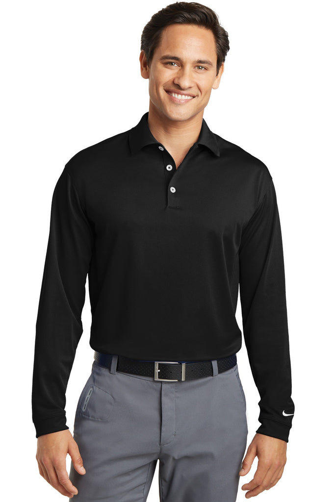 Nike Golf Tall Long Sleeve Dri-FIT Stretch Tech Polo. 604940