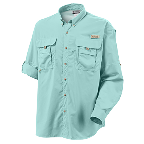 Columbia men 39 s bahama ii long sleeve shirt for Mens fishing shirts