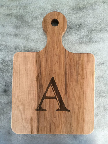 "8"" Engraved Serving Board"
