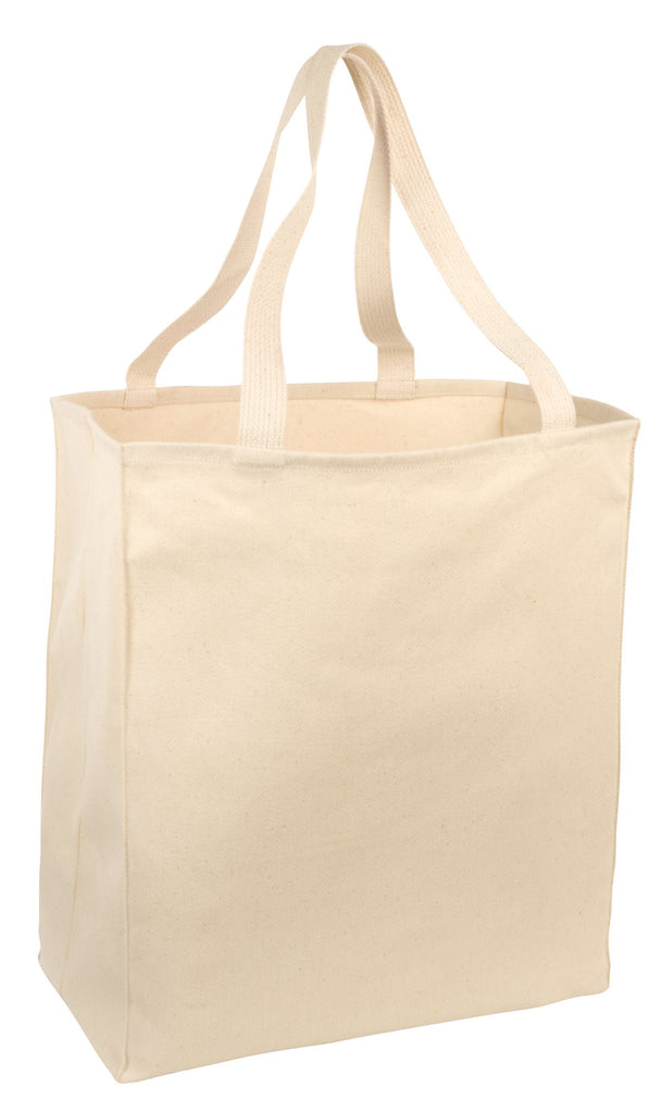 Port & Company® Over-the-Shoulder Grocery Tote. B110