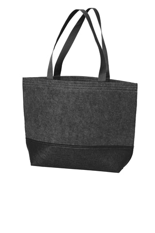 Port Authority® Medium Felt Tote. BG402M