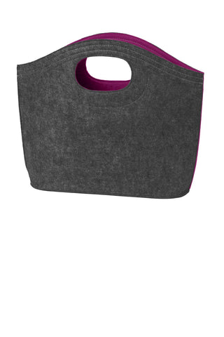 Port Authority® Felt Hobo Tote. BG403
