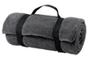 Port & Company® - Value Fleece Blanket with Strap.  BP10