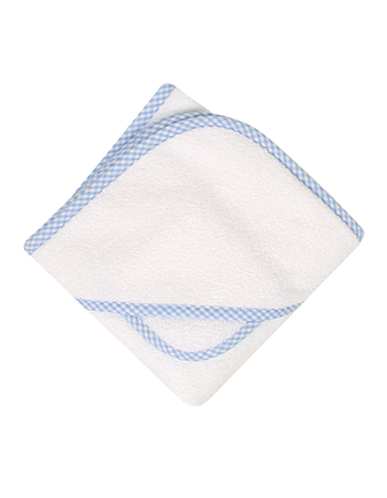 3 Marthas Gingham Terry Hooded Towel