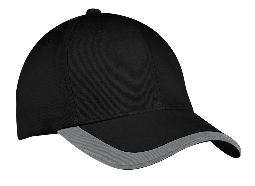 Port Authority® Contrast Stripe Sandwich Bill Cap.  C867
