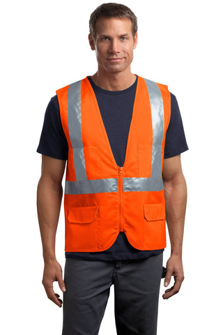 CornerStone® - ANSI 107 Class 2 Mesh Back Safety Vest. CSV405