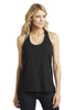 District Made® Ladies Shimmer Loop Back Tank. DM455