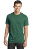 District® - Young Mens Gravel 50/50 Notch Crew Tee. DT1400