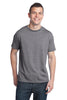 District® - Young Mens Tri-Blend Crew Neck Tee. DT142