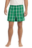 District® - Young Mens Flannel Plaid Boxer. DT1801