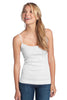 District® - Juniors 1x1 Rib Spaghetti Strap Tank. DT232