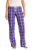 District® - Juniors Flannel Plaid Pant. DT2800