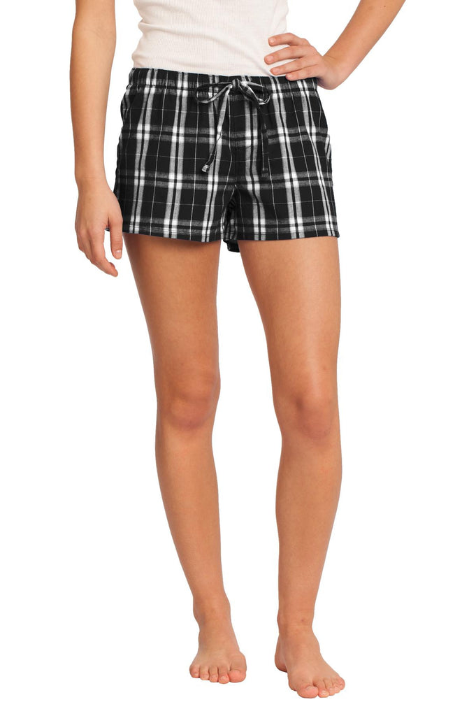 District® -Juniors Flannel Plaid Boxer. DT2801