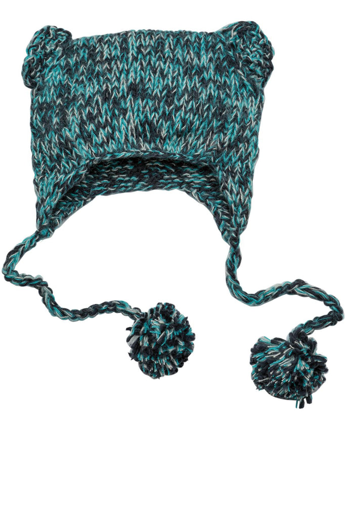 District® - Hand Knit Cat-Eared Beanie. DT626
