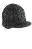 District® - Cabled Brimmed Hat. DT628