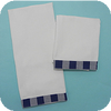 Gingham Trimmed Guest Towel