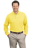 Port Authority® Long Sleeve Pique Knit Polo. K320