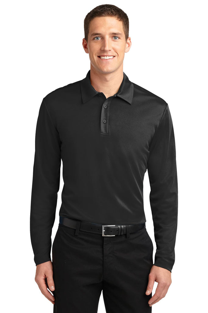 Port Authority® Silk Touch Performance Long Sleeve Polo. K540LS""