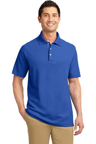 Port Authority® EZCotton Pique Polo. K800""