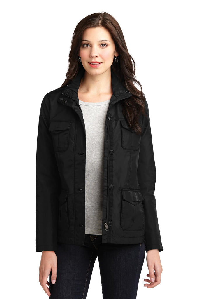 Port Authority® Ladies Four-Pocket Jacket. L326